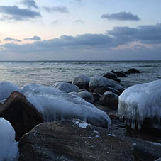 Winter an der Eckernförder Bucht